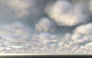 Rendering of clouds with REDsdk 4.3
